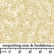 Beige Boughs 108 Cotton