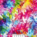 Rainbow Colors Splash 108 Cotton