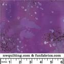 Purple Fossil Fern 108 Cotton