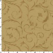 Tan Beautiful 108 Wide Cotton