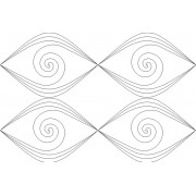 Rows of Eyes Pattern