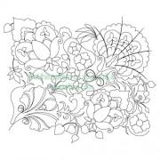 Grandmas Flowers 01 Pattern