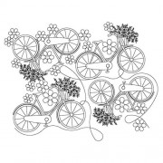 French Bike 01 Pattern