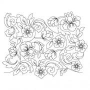 Flower Pano 21 Pattern