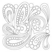 Modern Paisley Swirl Pano 2