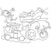 Boys Toys Pattern