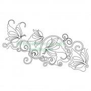 Butterfly Vine Pattern