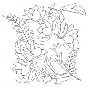 Flower Pano 044 Pattern