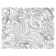 Feather Ironwork Sq Pattern