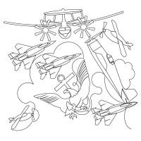 Airplane Pano 03 Pattern