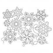 Snowflake Pano 05 Pattern