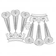 Royal Feather Pano 01 Pattern