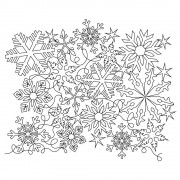 Snowflake Complex 04 Pattern