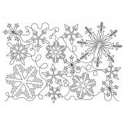 Snowflake Complex Short Pattern