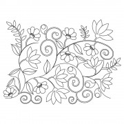 Flower Pano 45 Pattern
