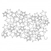 Stars and Loops 07 Pattern