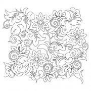 Baroque Flower 01 Pattern