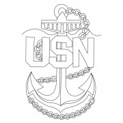 US Navy Anchor 02 Pattern