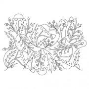 Flower Pano 20 Pattern