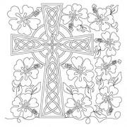 Celtic Cross Hibiscus Pano