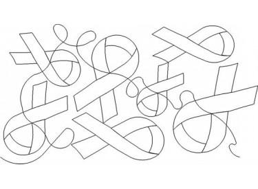 Awareness Ribbon Pattern