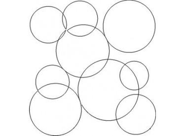 Bubbles B2B Pattern