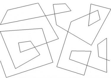 Skewed Squares Pattern