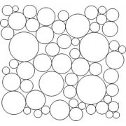Bubbles Everywhere Quilting Pattern