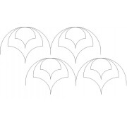 Clamshell Dome Offset Pattern