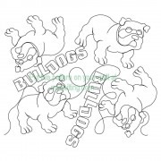 Bull Dogs Word Pattern