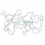 Dinosaur 001 Pattern