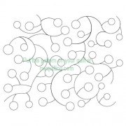 Dots and Curves Pattern