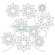 Ship Wheels Pattern