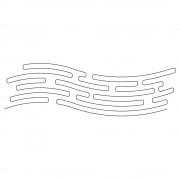 Curved Line Maze Pattern