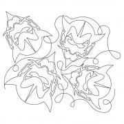 Devil Mascot Pano 01 Pattern