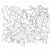Noahs Ark Pano 02 Pattern