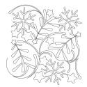 Primitive Christmas Pano 02 Pattern
