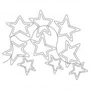 Wonky Double Star Pano 01 Pattern