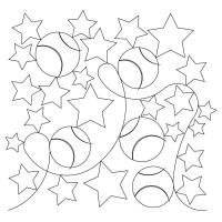 Baseball Stars Pano 05 Pattern