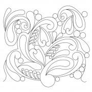 Paisley Heart Swirl 01 Pattern
