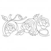 Ribbon Roses 02 Pattern