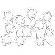 Maple Leaf Pano 5 Pattern