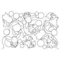 Anime Pano Bits Pattern