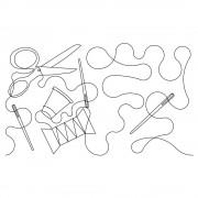 Quilt Spool P2P 2 Pattern