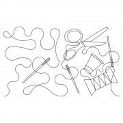 Quilt Spool P2P 1 Pattern