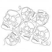 Skull Pano Pattern