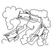 Piper Plane Pano Pattern