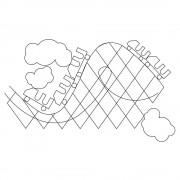 Roller Coaster Pano Pattern