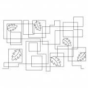 Squares with Leaves Pano