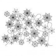 Snowflake Pano 06 Pattern